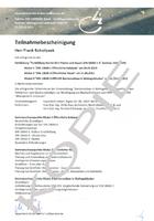 Sachverständiger für barrierefreies Bauen und Wohnen mit KfW-Zertifizierung
