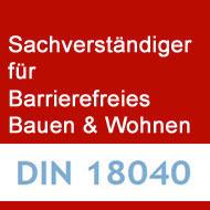 Sachverständiger / Gutachter gem. KFW-Anforderungen für Barrierefreies Bauen und Wohnen, 12487 Berlin