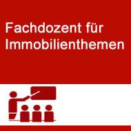 Fachdozent,Sachverständiger, Gutachter in der Immobilienwirtschaft, 12487 Berlin
